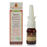Propoli spray bio italiana - Spray nasale alla propoli isotonica biologica dei Pirenei senza alcol 15 ml